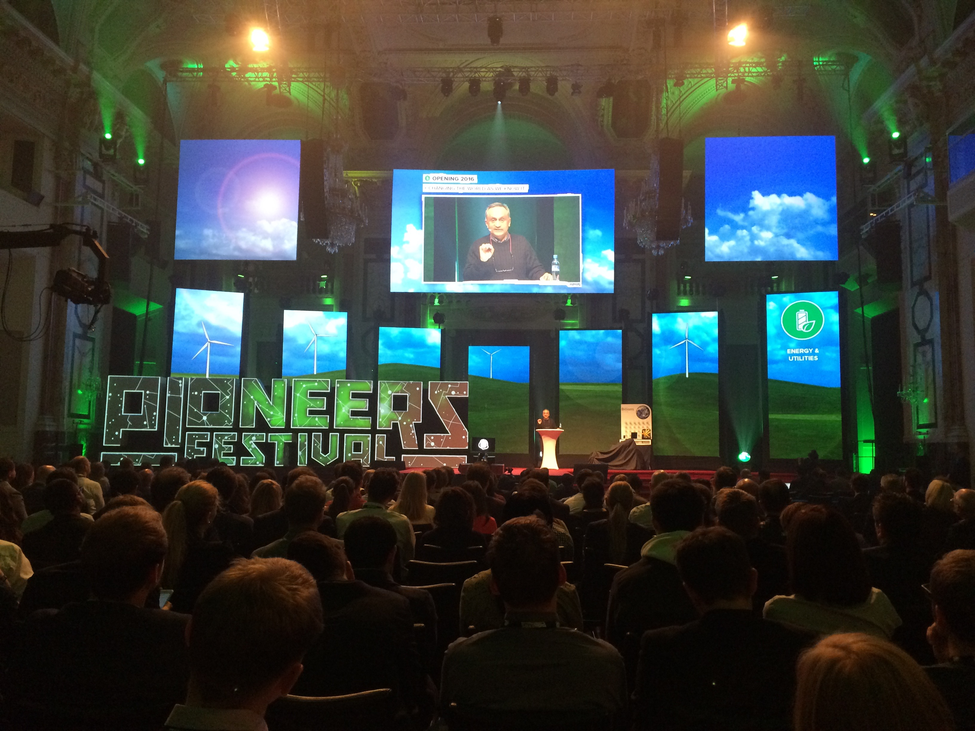 Pioneers Festival – Inspiration not only for startups