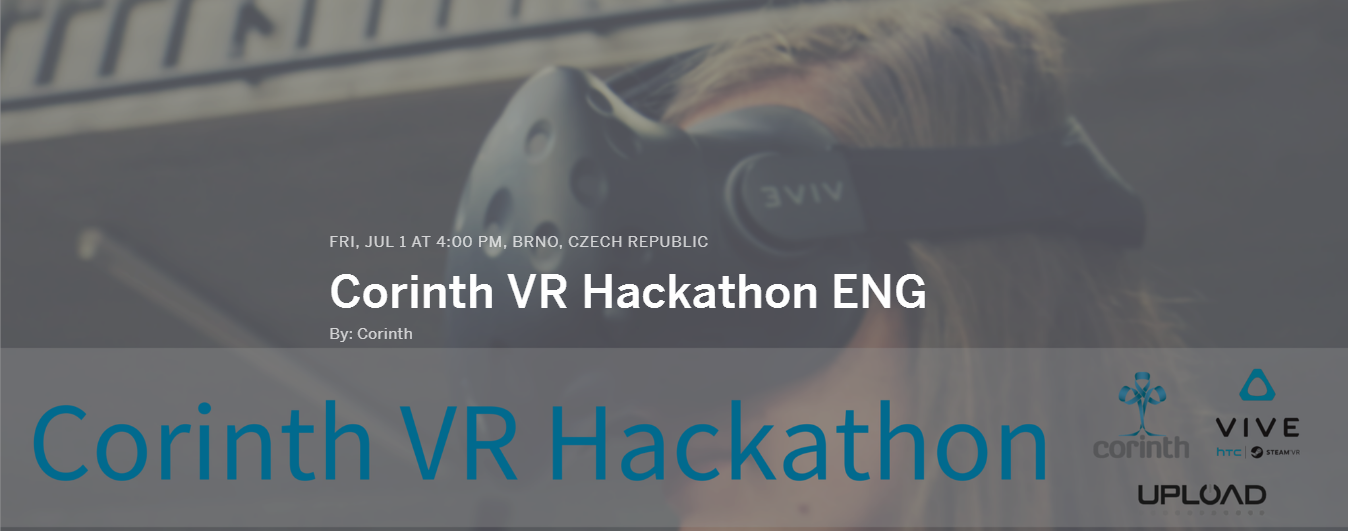 Corinth is introducing first VR Hackathon in Central Europe