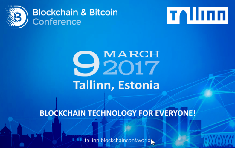Tallinn Hosting First Large Blockchain and Cryptocurrencies Conference