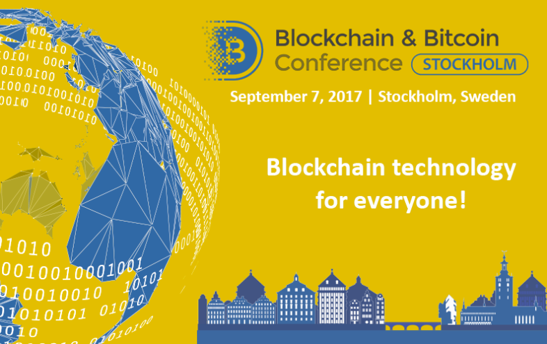 Stockholm to Host First Large Conference on Cryptocurrency and Blockchain
