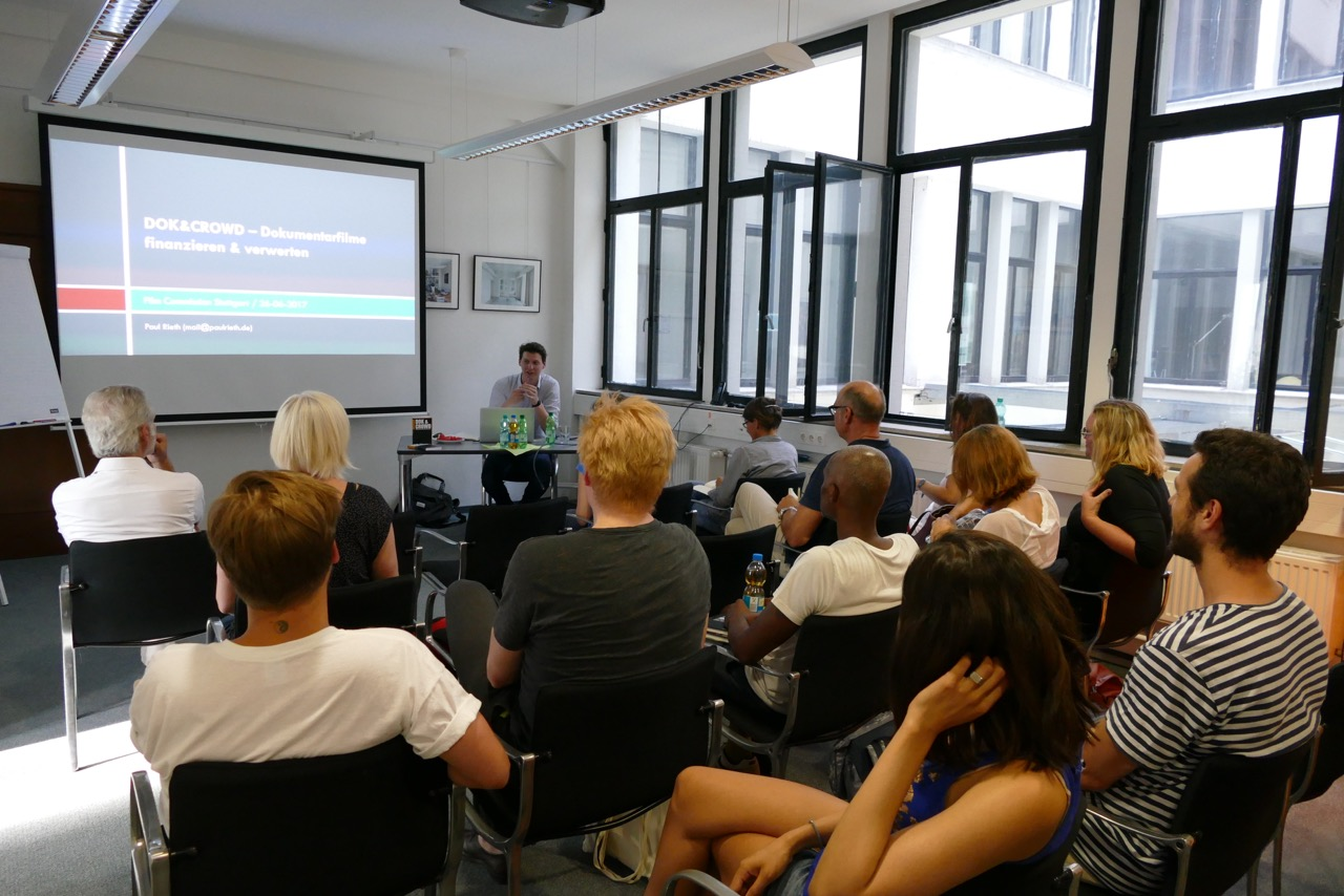 Crowdfunding Workshop with Paul Rieth