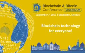 Blockchain Bitcoin Conference Stockholm