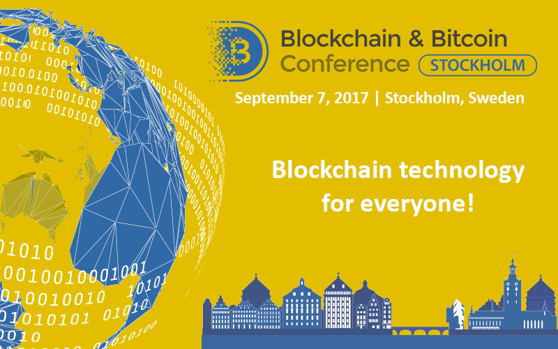 Blockchain Bitcoin Conference Stockholm