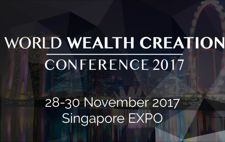 Come To World Wealth Creation Conference in Singapore