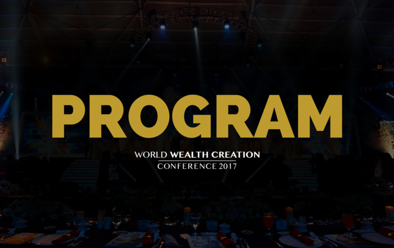 The Program Of World Wealth Creation Conference In Singapore