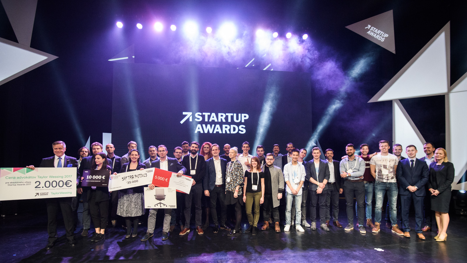 Startup Awards 2017, All Finalists