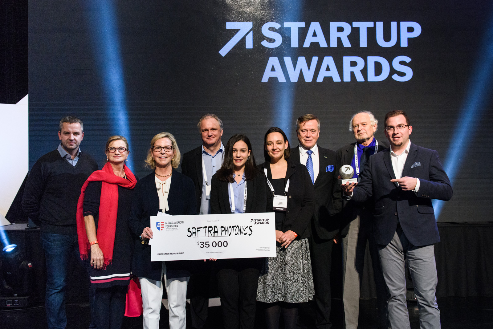 Saftra Photonics, the winner of Startup Awards 2017