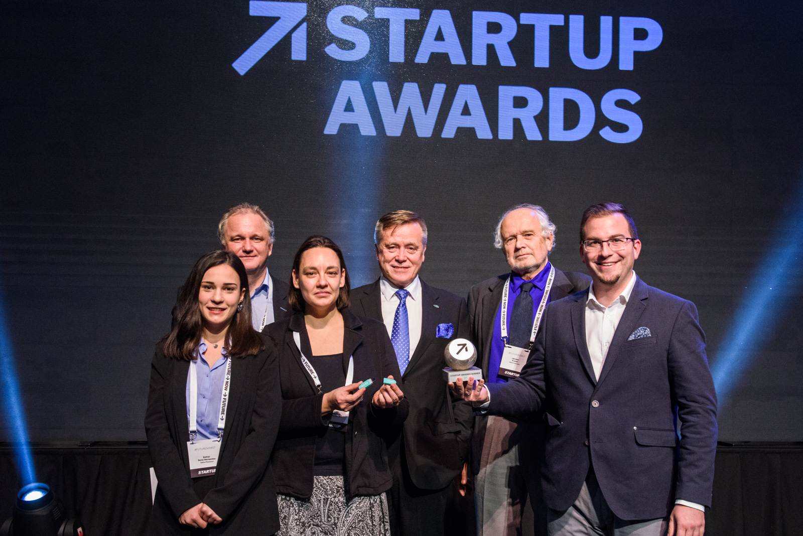 SAFTRA Photonics team at the Startup Awards 2017