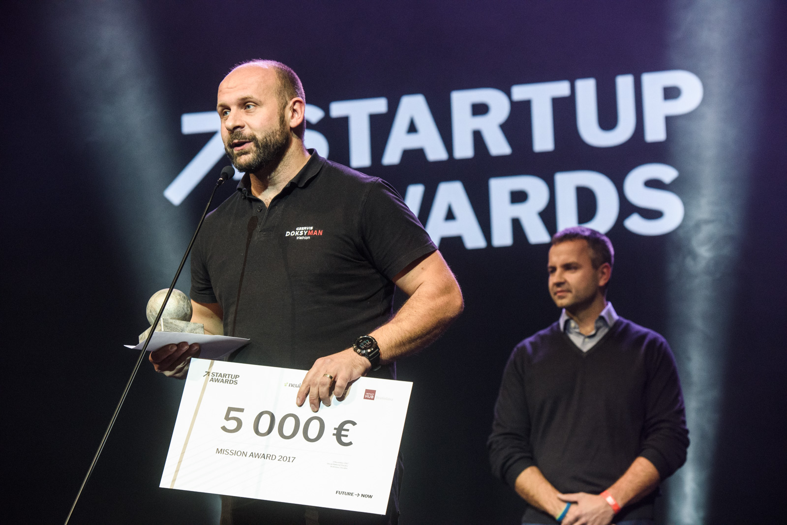 Sensoneo, the winner of Mission Awards at the Startup Awards 2017