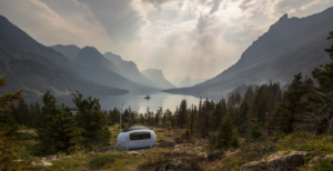ECOCAPSULE in mountains.