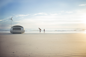 Surfers with ECOCAPSULE.