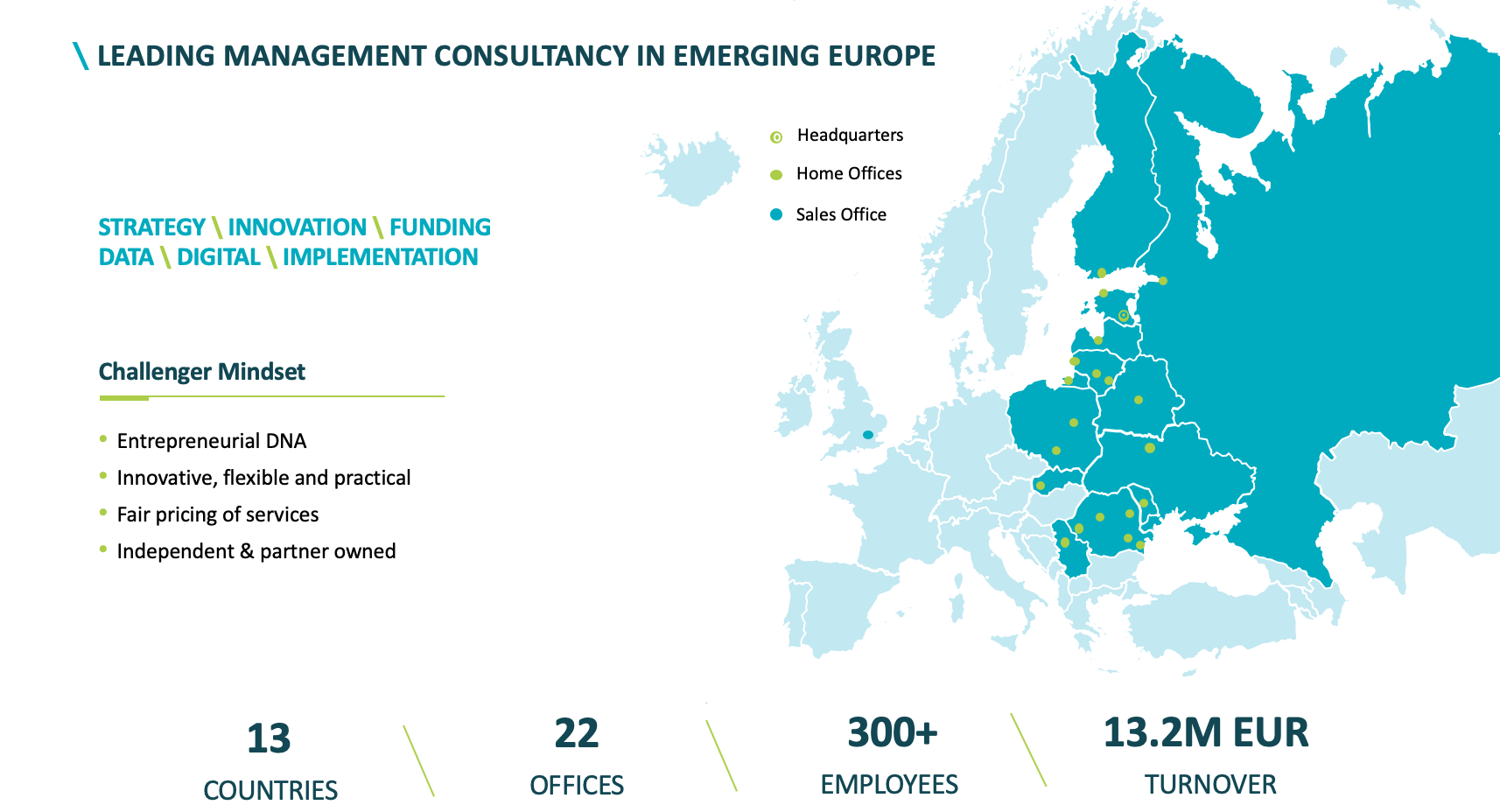 CIVITTA as a leading management consultancy in emerging Europe