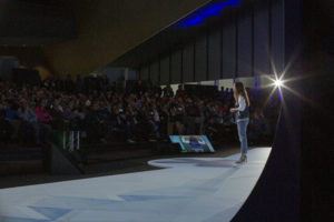 Alisee de Tonnac, CEO & Co-founder of Seedstars World, on stage
