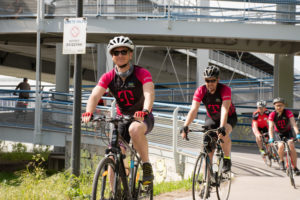 Techbikers CEE 2019: Crossing the Danube on day 1