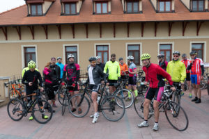 Techbikers CEE 2019: ...and arrival to Komarno.